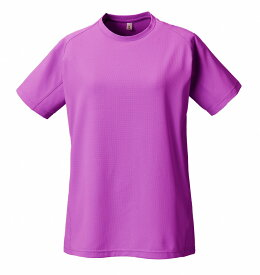 PUROMONTE(プロモンテ)アウトドアTシャツトリプルドライカラット ライトウェイト 半袖Tシャツ (ウィメンズ)TN155Wピンク