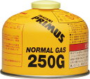 PRIMUS(プリムス)ノーマルガス (小) ガス缶 燃料 ガス カセットガス アウトドア キャンプ BBQ 調理 ランタン IP250G