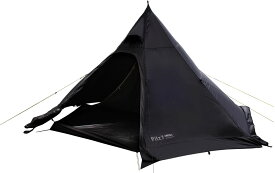 【15日限定P最大10倍】Canadian East(カナディアンイースト)ピルツ7 ブラック(2〜3人用) Pilz7 BLACK ワンポール モノポール テント キャンプ アウトドア 黒ピルツ ファミリー CETO1001BLK