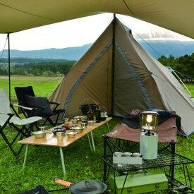 ユニフレーム(UNIFLAME)アウトドアREVOルーム4プラス TAN テント モノポールテント アウトドア キャンプ 4人681985