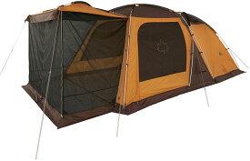 ロゴス(LOGOS)3ルームドゥーブルXL(2020 LIMITED) 2020年限定カラー 6人 ゆったり テント 3ルーム キャンプ アウトドア ファミリー 家族 グループ 仲間 バーベキュー BBQ71805567