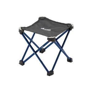 ロゴス(LOGOS)(ステンパーツ)7075キュービックチェアーAF ブルー チェア コンパクトチェア アウトドアチェア ローチェア アウトドア キャンプ 椅子 イス いす BBQ バーベキュー73175012