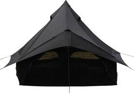 【15日限定P最大10倍】Canadian East(カナディアンイースト)モノポール+1フレーム型テント Glole12 BLACK グロッケ12 ブラック 5〜6人用CETO1004