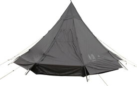 Canadian East(カナディアンイースト)モノポール型テント Pilz12 BLACK ピルツ12 ブラック 5〜6人用 テント キャンプ アウトドアCETO1005