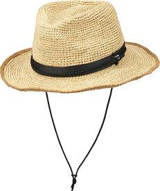 【送料無料ライン対応ショップ】THE NORTH FACE(ノースフェイス)アウトドアラフィアハット(ユニセックス) Raffia Hat 帽子 つば広 サファリハット アウトドア キャンプ 散歩 メンズ レディース NN01554NB