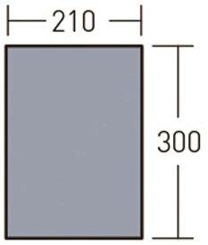 【送料無料ライン対応ショップ】小川キャンパル(OGAWA CAMPAL)アウトドアグランドマット2130 アポロン用3890