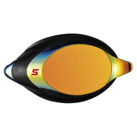 SWANS(スワンズ)水泳水球競技ゴーグル・サングラスPREMIUM ANTI - FOG クッション付度付ミラーレンズ SRXバージョン ( 片眼 1 個 )SRXCLMPAF331 スモークオレンシ