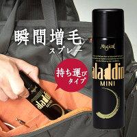 【アラジン・ミニ】男女兼用の白髪・薄毛隠し瞬間増毛スプレー
