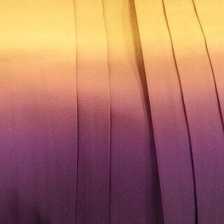 一度は着たい!卒業式に購入袴6点セットレトロな女学生コーデの矢羽根柄パープル【中古】身長約145から148cm