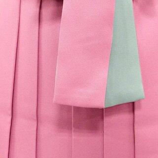二尺袖着物女袴卒業式の購入セット清楚に着こなす上品WHITE×キュートなPINK【中古】身長約149から170cm
