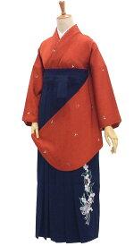 袴セット 卒業式 巾着もついてる 6点セット 清潔感あるスズランのきもの&はかま 身長約147から154cm在庫限りです!