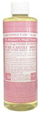 [ドクターブロナー マジックソープ] チェリーブロッサムマジックソープリキッドタイプ 236ml・全米売上No.1天然ソープメール便での発送はできません。