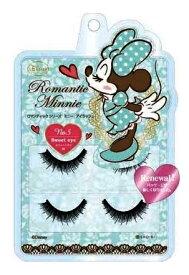 ディズニー ミニーマウス アイラッシュ  No.5スウィートアイブラックタイプ美容・コスメ・つけまつげ