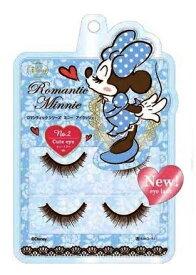 ディズニー ミニーマウス アイラッシュ No.2キュートアイブラウンタイプ美容・コスメ・つけまつげ