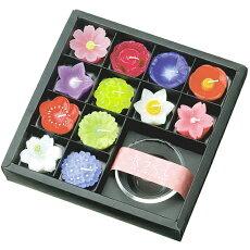 【手元供養用キャンドル】花づくしキャンドル