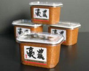 豪農500g×4ギフト セット 国産原料 新潟コシヒカリ米糀 新潟老舗蔵元の高級 みそ 「豪農」味噌500g×4