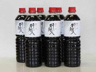 """酱油的礼物设置鲣鱼大石大豆""""厨师""""1 L × 6 本书的新泻县建立啤酒厂"""