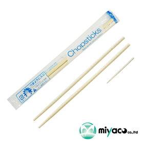 竹箸 OPP完封丸箸(20cm)楊枝入 業務用 3000膳