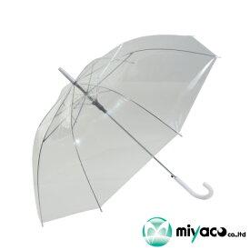 ビニール傘(透明)55cmジャンプ式 60本_業務用