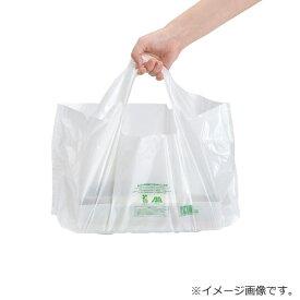 福助キャリーバッグバイオ25 ランチ 乳白 小 2000枚【レジ袋有料化対象外 】0488755
