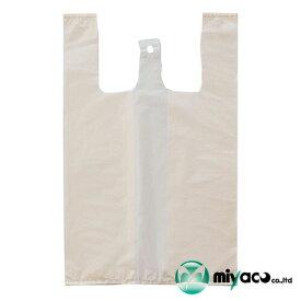 弁当用レジ袋 イージーバッグ ランチ ベージュ(L)2000枚 福助工業 0472891