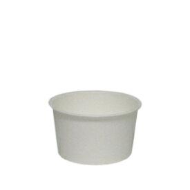 トーカン/アイスカップ 紙容器 業務用(91ml) PC-60F ムジ 両面PE 2000個