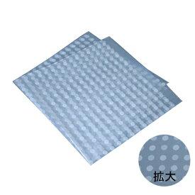 ポリ風呂敷 No.90(水玉透明)300枚 福助工業 0370861
