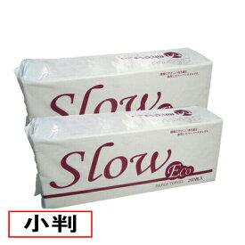 業務用ペーパータオル Slow ECO(小判)40冊