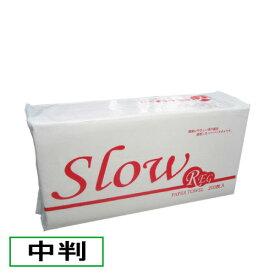 業務用ペーパータオル Slow REG[中判サイズ]200枚×30袋