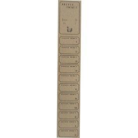 コーヒーチケット(CT-2) [11枚つづり] 1000枚