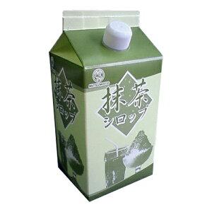 かき氷シロップ(抹茶)900ml 1本