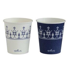 紙コップ7オンス(HMクラシックブルーカップ)2500個_4901627043141