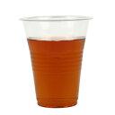 【激安】★プラスチックカップ400ml 100個_プラスチックコップ_プラカップ 使い捨て
