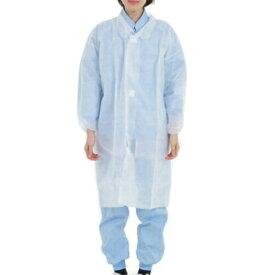 ≪Mサイズ 1月下旬入荷≫使い捨て白衣(薄手)ディスポ白衣 50着