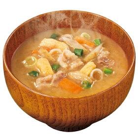 アマノフーズフリーズドライ国産具材使用減塩タイプまごころ一杯おみそ汁【とん汁】(お湯を入れるだけの簡単・便利・美味しい味噌汁)5食セット