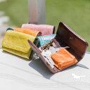 キーケース 小銭入れ有り スマートキー レディース かわいい 本革 四連 三つ折り ポケット コインケース 馬革 カラフ…