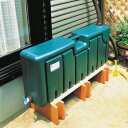 節水・節約!スタイリッシュな角型タンクです!ミツギロン 雨水タンク 80L
