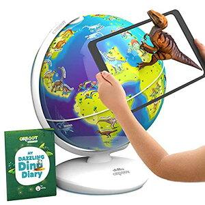3Dで学べる 知育地球儀 Shifu Orboot 世界各国の特徴や文化を楽しみながら学習できる 立体表示で面白い AR(拡張現実) 知育玩具 STE
