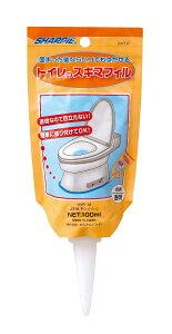 トイレのスキマフィル トイレ隙間フィル トイレ 隙間 トイレ スキマ すきま フィル トイレ 床 便器と床のすき間にジェルを塗って汚れを防止 日本製 簡単 トイレ掃除 家事楽 におい 100g 水