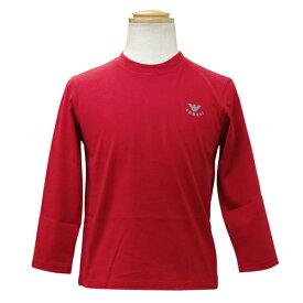 4ab7ed8721195 アルマーニ ジュニア ARMANI JUNIOR 長袖Tシャツ NXH822FRED  ブランド子供服