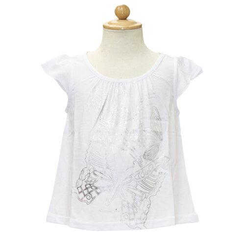ベビーディオール Baby Dior パフスリーブ Tシャツ CD-0158WHT 【ブランド子供服】