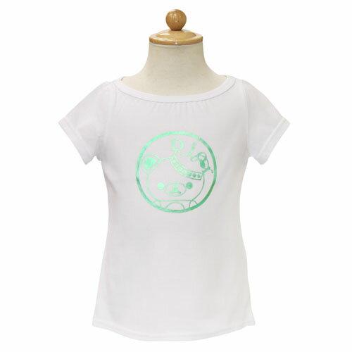 ベビーディオール Baby Dior 半袖Tシャツ CD-0166WHT 【ブランド子供服】