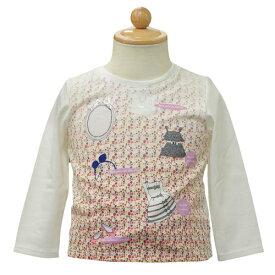 ベビーディオール Baby Dior 長袖Tシャツ ロンT CD-0256IV 【あす楽対応】【のし対応】【ブランド子供服】