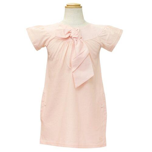 クリスチャン ディオール Christian Dior 半袖子供ドレス ワンピース フォーマルドレス CD-0269PK 【ブランド子供服】