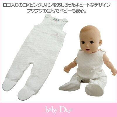 ベビーディオール Baby Dior ノースリーブ カバーオール CD-0147PK【あす楽対応】【のし対応】【ブランド子供服】