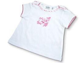 ベビーディオールBaby Dior 半袖Tシャツ CD-0148RED★出産祝いに大人気のベビー服 ★【あす楽対応】【ブランド子供服】