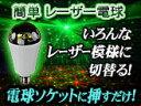 電球ソケットにはめ込むだけでレーザー光による美しい輝きを演出【L01 LASER Bulb】E26