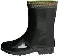 定番!短めの黒短半長靴《ミツウマ》エースキング長2