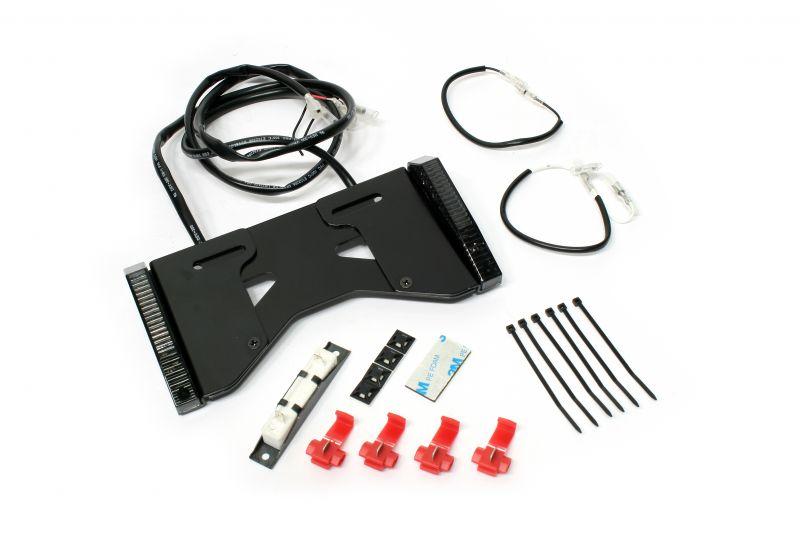 アクティブ(ACTIVE) LED ウインカー MINI(スライド式ライセンスホルダー付) スモークレンズ (30100067)