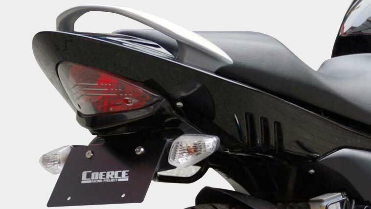 COERCE(コアース) フェンダーレスキット FRP黒ゲル GSR250 (0-42-CFLF3210)